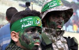 עצרת לרגל 31 שנה לייסוד חמאס
