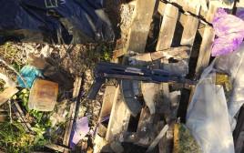 הנשק איתו בוצע פיגוע הירי בגבעת אסף