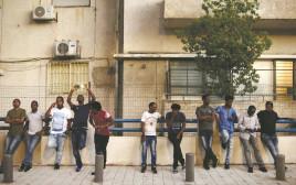 שוהים זרים בדרום תל אביב