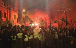 הפגנה בהונגריה