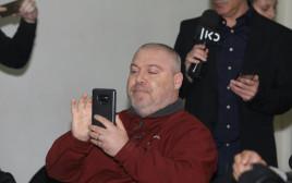 גונן בן יצחק במסיבת העיתונאים של בנט ושקד