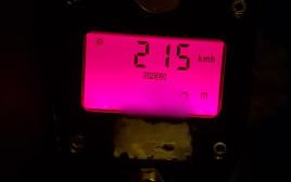 """מהירות הרכב כפי שנתפסה בממל""""ז"""