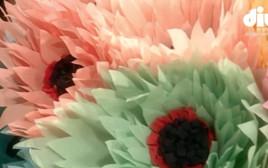 פרחים מנייר