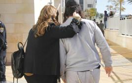 שחרור אחד הנערים שנעצרו