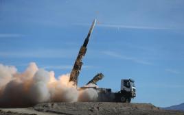 שיגור של טיל סאיאד איראני