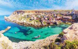 חוף ים במלטה