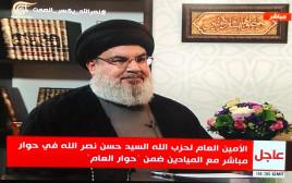 חסן נסראללה בראיון באל מיאדין