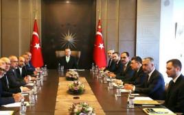 משלחת חברי הכנסת הערבים שנפגשה עם נשיא טורקיה ארדואן