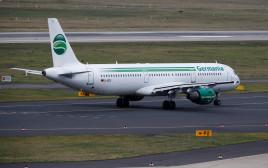 """מטוס של חברת """"גרמניה איירליינס"""""""