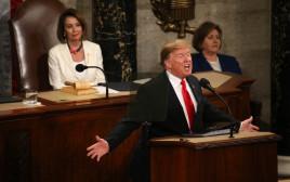 דונלד טראמפ בנאום מצב האומה