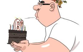 רון קופמן חוגג יום הולדת 60