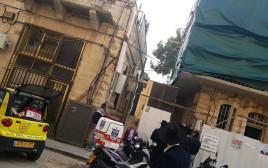 נערה נפצעה בירושלים