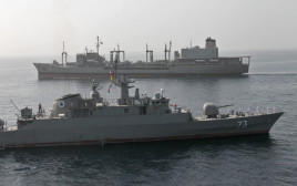תרגיל של חיל הים האיראני