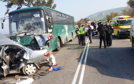 התאונה בכביש 92