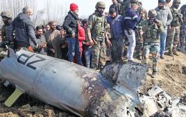 המטוס שהתרסק בחבל קשמיר