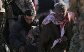 לוחמי דאעש שנשבו בידיי הכוחות הסורים הדמוקרטים