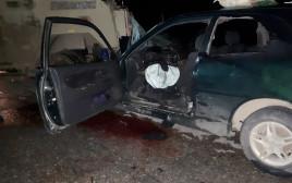 הרכב הפלסטיני שביצע את פיגוע הדריסה בכפר נעמה שבבנימין