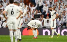 שחקני ריאל מדריד לאחר ההפסד