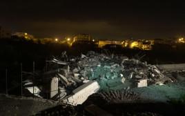 הריסת בית המחבל שביצע את הפיגוע בגבעת אסף