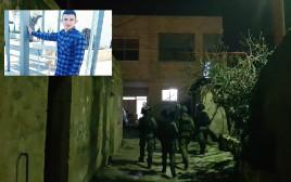 """כוחות צה""""ל במצוד אחר המחבל עמר אבולילא"""
