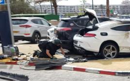 פיצוץ רכב באילת