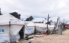 מחנה פליטים ביוון