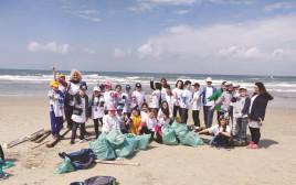 יום המעשים הטובים: מנקים את חופי נווה ים ודור