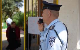 שוטרים בקלפיות