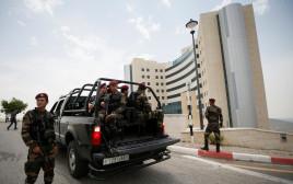 שוטרים פלסטינים ברמאללה