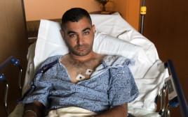אלמוג פרץ שנפצע באירוע הירי בסן דייגו