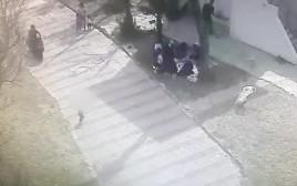 אופנוע פגע בפעוט בחוף אולגה