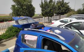 הרכב של בני הזוג המואשמים בפריצות לבתים