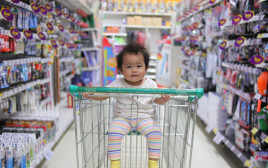 קניות עם ילדים