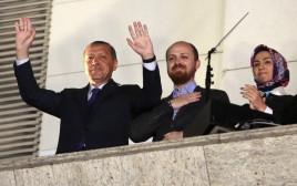 הנשיא ארדואן ובנו בילאל