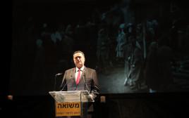 """ישראל כ""""ץ בטקס במכון משואה"""