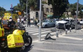 פיצוץ הרכב בחיפה