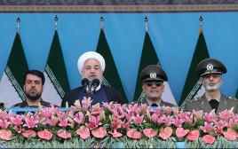 רוחאני והצמרת הצבאית של איראן