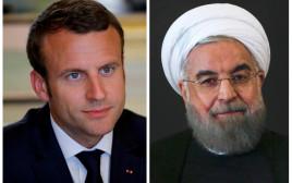 נשיא איראן חסן רוחאני, נשיא צרפת עמנואל מקרון