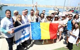 משט חיל הים בהשתתפות משלחות האירוויזיון