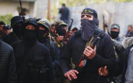 מחבלים של הג'יהאד האסלאמי בעזה