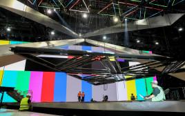 בניית מתחם האירוויזיון