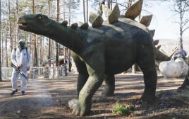 ריסוס נגד פשפשים בפארק ברוסיה