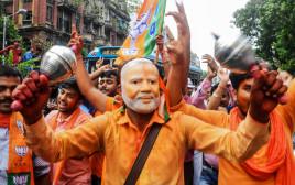 חגיגות הניצחון של מודי בהודו