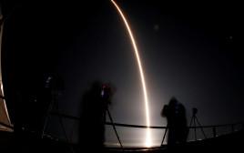 שיגור לווין של SpaceX