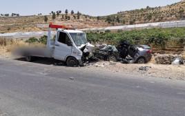 תאונת דרכים בכביש 60