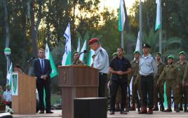 """רמטכ""""ל כוכבי בטקס התייחדות לחללי חטיבת הנח""""ל באנדרטת הנח״ל"""
