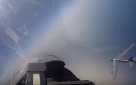 היתקלות בין מטוס רוסי למפציץ אמריקאי