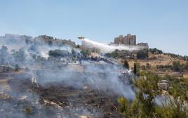 השריפה ליד ירושלים