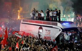 חגיגות הניצחון בבחירות המקומיות באיסטנבול