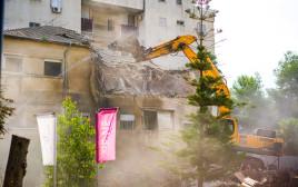 בניית פרויקט המגורים RENE